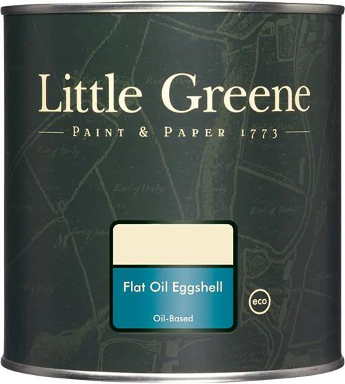 Краска Little Greene Flat Oil Eggshell масляная для дерева и металла