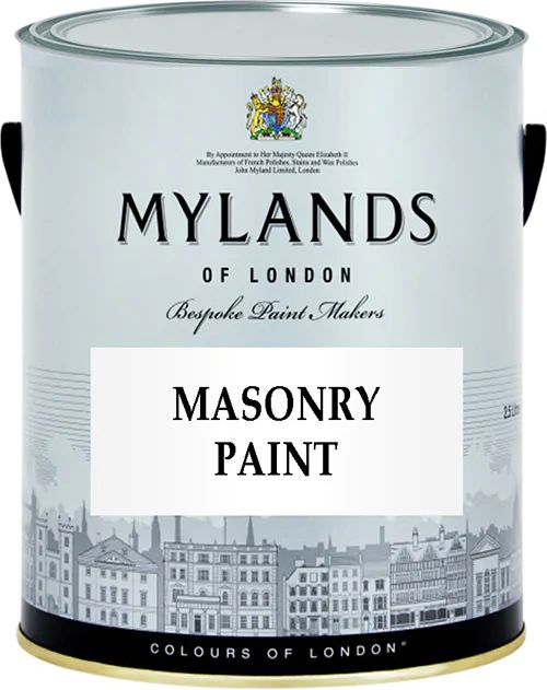 Краска Mylands Masonry Paint для фасадов