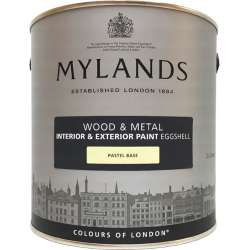 Краска для дерева и металла полуматовая Mylands Wood & Metal Paint Eggshel
