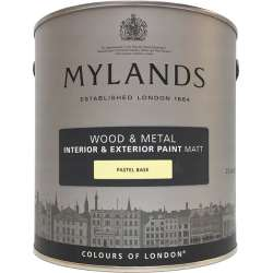 Краска для дерева и металла матовая Mylands Wood & Metal Paint Matt