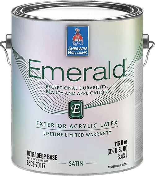 Краска Sherwin-Williams Emerald Exterior Acrylic Latex Satin