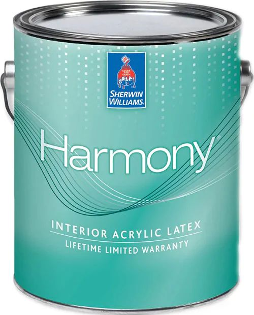 Краска Sherwin-Williams Harmony Interior Latex Flat гипоаллергенная